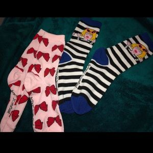 Betsy Johnson Socks